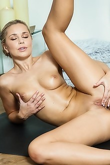 Dido A in Naked Yoga by John Chalk lola indoor blonde brown ...