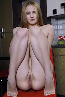 Dakota Pink in Sexy Teddy by Matiss indoor blonde green eyes...