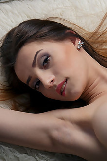 Marlyn in Bound by Higinio Domingo indoor brunette brown eyes shaved tight pussy latest