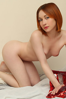 Night A in 2018 by Rylsky indoor redhead green eyes hairy unshaven pussy latest