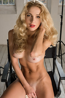 Presenting Mila N by Tora Ness indoor blonde boobies shaved ...