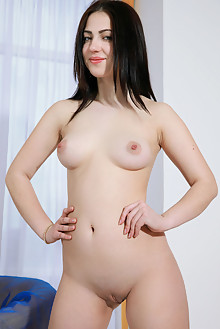 Sivilla in Nantees by Matiss indoor brunette black hair hazel eyes boobies shaved pussy ass latest