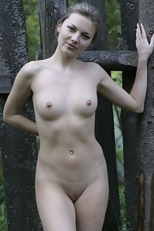 Lana Y in Corral For Naked Girls by Thierry Murrell outdoor ...