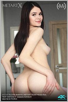 Kinsley in Hot Instinct by Flora indoor brunette black hair ...