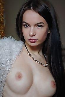 debora a meaza arkisi indoor brunette brown boobies ass pussy shaved custom