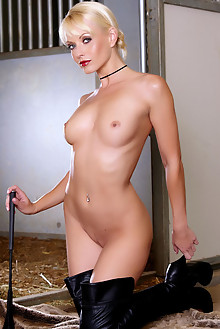 Jana Cova in Ready To Ride by Holly Randall indoor blonde blue eyes shaved ass dildo latest