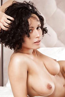 Pammie Lee in Tamoi by Ron Offlin ebony brunette black hair ...