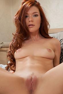 mia sollis tesala koenart indoor redhead green freckles boobies shaved pussy tight
