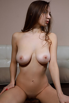 Charlize in Join Me by Matiss indoor brunette brown eyes boo...