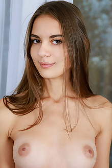 Presenting Valencia by Matiss indoor brunette brown eyes boobies shaved tight pussy ass latest