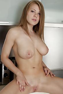 Viola Bailey in Azmeli by Koenart indoor blonde hazel eyes boobies busty shaved tight pussy latest