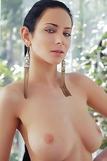 lydia nifolia arkisi indoor brunette blue boobies ass pussy custom