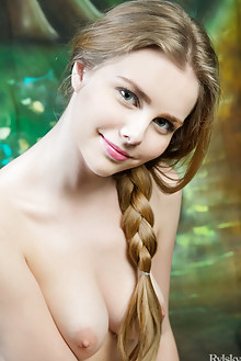 Marit in La Limfo by Rylsky indoor blonde blue eyes boobies ...