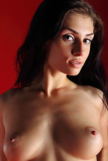 marina red gallery antonio clemens indoor brunette brown boobies ass pussy