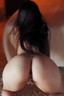li moon pinda arkisi indoor brunette brown asian boobies shaved ass pussy labia hips custom