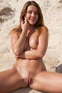 Sybil A in Explore by Ken Tavos outdoor beach sunny blonde g...