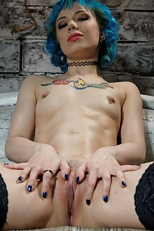 Wetty Tiny Emo in Swallowing Miles by Tom Elder indoor dyed hair tattoo shaved ass dildo latest