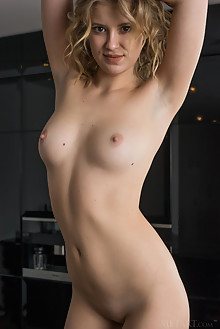 Casey in Egsta by Tora Ness indoor blonde brown eyes shaved pussy