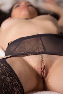 bella released desire marlene indoor brunette blue boobies shaved ass pussy bondage