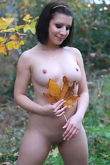 Teresse Bizzarre in Outdoor Nudity by John Bloomberg outdoor brunette black hair boobies shaved ass
