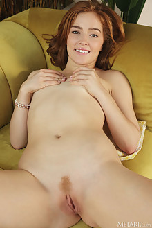 Jia Lissa in Ginger Snal by Flora indoor redhead green eyes trimmed pussy ass custom