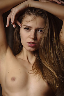 Kalisy in Good For Your Sould by Nick Twin indoor brunette brown eyes petite small tits shaved pussy latest