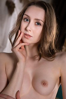 Ginger Frost in Gallery by Nudero indoor brunette blue eyes ...