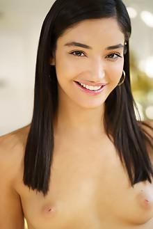 Presenting Emily Willis by Luca Helios indoor brunette black...