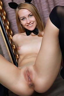 violet sahrna matiss indoor blonde blue shaved ass pussy tight custom