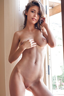 Mila Azul in Prisenti by Alex Lynn indoor brunette green eyes boobies busty shaved tight pussy latest