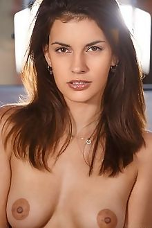candice luka mazenia luca helios indoor brunette brown boobies shaved ass pussy labia custom