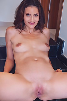 Tina Tiny in Lollipop by Alex Lynn indoor brunette brown eyes shaved pussy