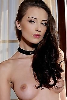 anna sija leonardo indoor brunette brown custom