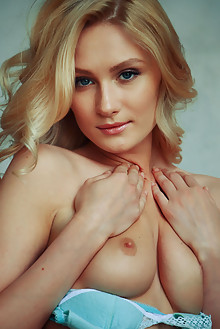 Celia in Ansor by Arkisi Keela C gerda rubia indoor blonde blue eyes boobies shaved tight pussy custom latest