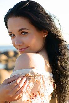 olka beach henry sharpe outdoor brunette blue