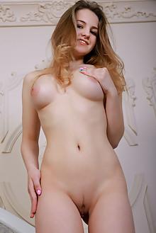 Veronika Mink in Dotira by Matiss indoor blonde blue eyes boobies shaved pussy latest