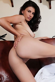 Remira Rivas in Wet and Desirable by Blake Jasper indoor brunette black hair shaved pussy