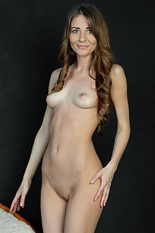 Olwen in Sokot by Rylsky indoor brunette blue eyes shaved ass pussy tight