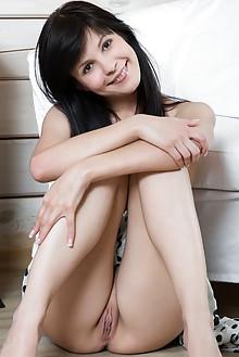Zelda B in Fajro by Rylsky indoor brunette black hair brown eyes shaved pussy latest