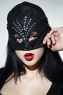 Mia Trejsi in Secret Identity by John Chalk indoor brunette black hair boobies shaved pussy dildo