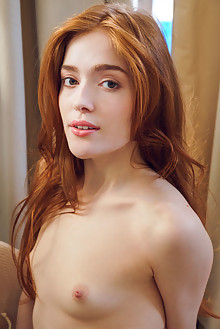 Jia Lissa in Litida by Alex Lynn indoor redhead green eyes small tits hairy trimmed pussy