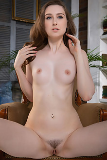 Ginger Frost in Tasseled by Nudero indoor brunette blue eyes trimmed pussy custom