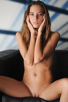 Mango A in City Lines by Artofdan indoor blonde blue eyes sh...