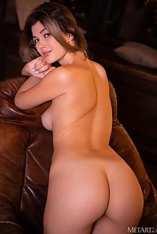Stefania Beatty in Magical by Nudero indoor brunette brown eyes boobies trimmed pussy custom