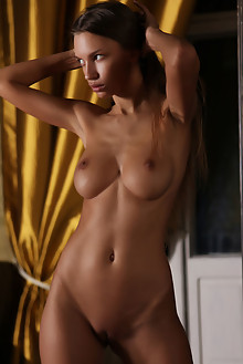 Elin in Cesade by Natasha Schon indoor brunette brown eyes boobies shaved latest