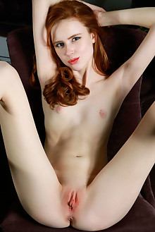 Presenting Bella Milano by Matiss indoor redhead blue eyes s...