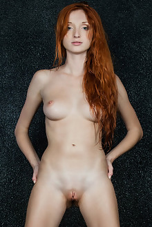 Michelle H in Sein by Rylsky indoor redhead blue eyes boobies shaved pussy