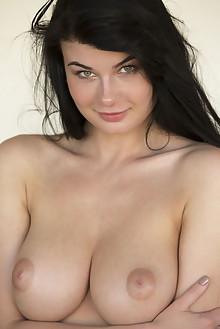Lucy Li in Wimere by DeltaGamma indoor brunette black hair green eyes boobies busty shaved tight pussy latest
