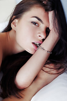 Debora A in Aradu by Arkisi indoor brunette brown eyes boobi...