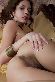 irina j aspeti albert varin indoor brunette brown hairy unshaven pussy ass custom